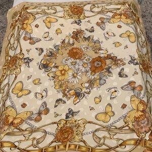 Italian Silk Scarf 🦋